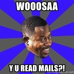 Bad Boys(Bad Guy) - wooosaa y u read mails?!