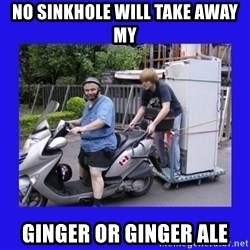 Motorfezzie - No sinkhole will take away my ginger or ginger ale