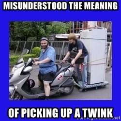 Motorfezzie - Misunderstood the meAning Of picking up a twink