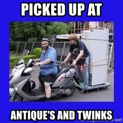 Motorfezzie - picked up at antique's and twinks