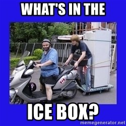 Motorfezzie - What's In The Ice Box?