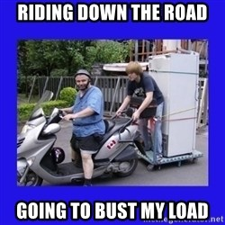 Motorfezzie - Riding down the road going to bust my load