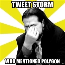 IanBogost - tweet storm who mentioned polygon