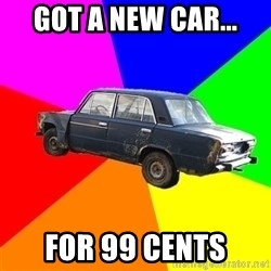 AdviceCar - got a new car... for 99 cents