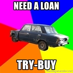 AdviceCar - NEED A LOAN TRY-BUY