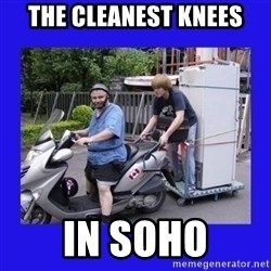 Motorfezzie - the cleanest knees in soho
