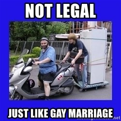 Motorfezzie - Not Legal Just Like Gay Marriage