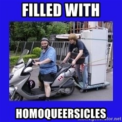 Motorfezzie - Filled with homoqueersicles