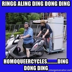 Motorfezzie - Ringg aling ding dong ding Homoqueercycles..........ding dong ding