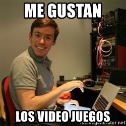 Ridiculously Photogenic Journalist - me gustan  los video juegos
