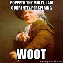 Joseph Ducreux - Poppeth thy molly, i am currently perspiring woot