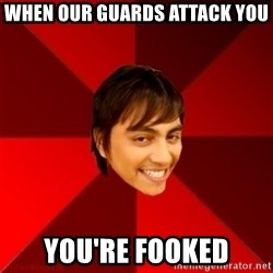 Un dia con paoly - when our guards attack you you're fooked