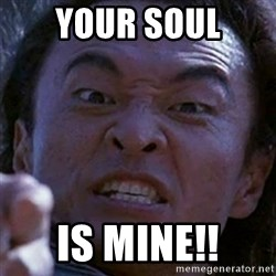 Shang Tsung - your soul is mine!!