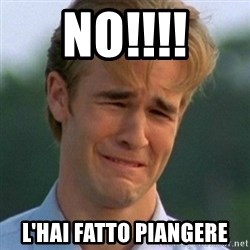 90s Problems - NO!!!! L'HAI FATTO PIANGERE