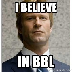 Harvey Dent - I believe in bbl