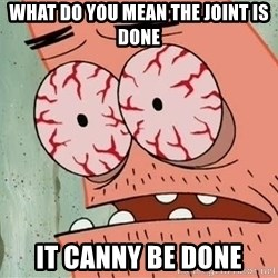 Stoned Patrick - WHAT DO YOU MEAN THE JOINT IS DONE IT CANNY BE DONE