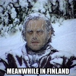 Frozen Jack -  meanwhile in finland