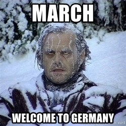 Frozen Jack - march welcome to germany