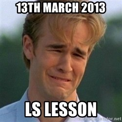 90s Problems - 13th March 2013 ls lesson