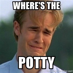 90s Problems - WHERE'S THE POTTY