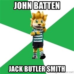 sporting - JOHN BATTEN JACK BUTLER SMITH
