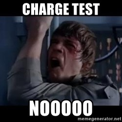 Luke skywalker nooooooo - charge test NOOOOO