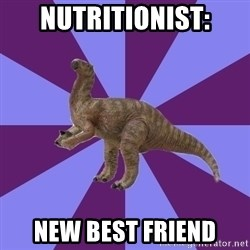IBS Iguanadon - Nutritionist: NEW BEST FRIEND
