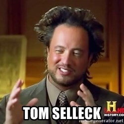 Ancient Aliens -  Tom selleck