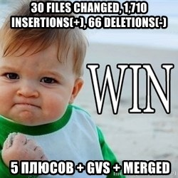 Win Baby - 30 files changed, 1,710 insertions(+), 66 deletions(-)  5 плюсов + GVS + Merged