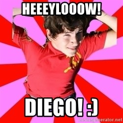 Model Immortal - HEEEYLOOOW! DIEGO! :)