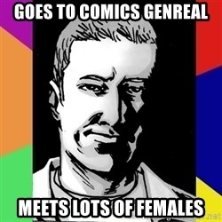 Spiteful Spencer - GOes to comics genreal meets lots of females