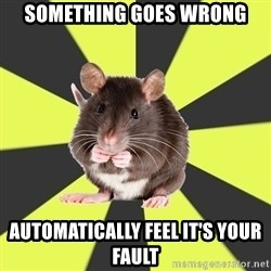 Survivor Rat - Something goes wrong automatically feel it's your fault
