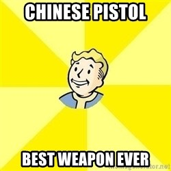 Fallout 3 - chinese pistol best weapon ever