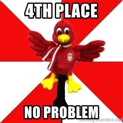 Liverpool Problems - 4TH PLACE NO PROBLEM