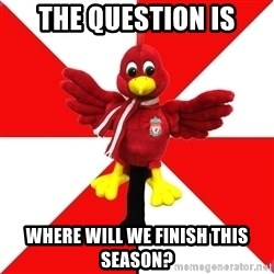Liverpool Problems - The question is where will we finish this season?