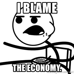 Cereal Guy - i blame the economy.