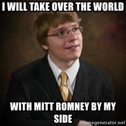 flyinchipmunk5 - i will take over the world with mitt romney by my side