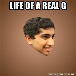 Handsome Indian Man - LIFE OF A REAL G