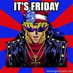 bandit keith - it's friday