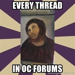 Retouched Ecce Homo - EVERY THREAD IN OC FORUMS