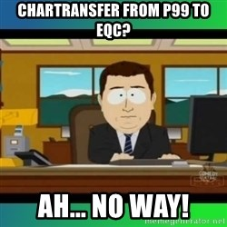 AH ITS GONE - chartransfer from p99 to EQc? ah... NO WAY!