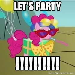 pinkie pie dragonshy - let's party !!!!!!!!!!