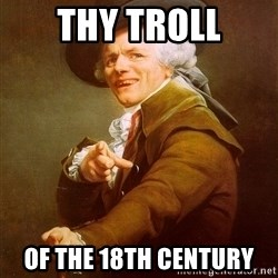 Joseph Ducreux - thy troll of the 18th century