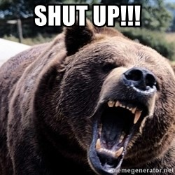 Bear week - shut up!!!