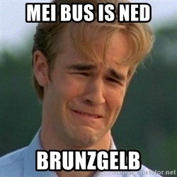 90s Problems - MEI BUS IS ned BRUNZGELB