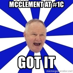 Crafty Randy - mcclement at #1C GOT it