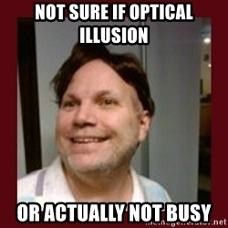 Free Speech Whatley - NOT SURE IF OPTICAL ILLUSION OR ACTUALLY NOT BUSY