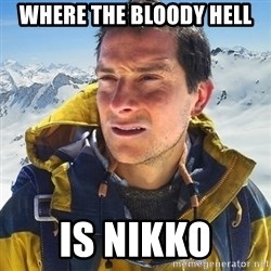 Kai mountain climber - where the bloody hell is nikkO
