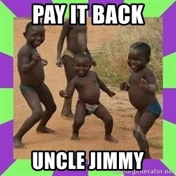 african kids dancing - pay it back uncle jimmy