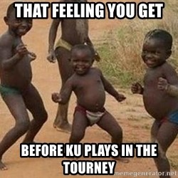 african children dancing - That feeling you get before KU plays in the tourney